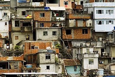 Slum (favela) Rio Comprido, Rio de Janeiro, Brazil