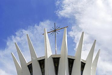 "Cathedral ""Nossa senhora da Aparecida, Brasilia, Brazil. Architect: Oscar Niemeyer"