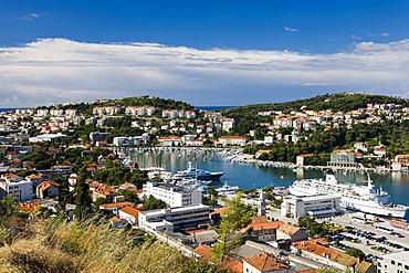 Dubrovnik Ragusa harbour, Dubrovnik-Neretva, Dalmatia, Croatia, Europe