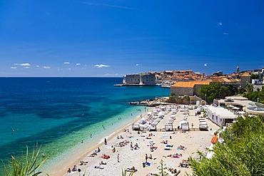 Dubrovnik historic city centre, Ragusa, Dubrovnik-Neretva, Dalmatia, Croatia, Europe