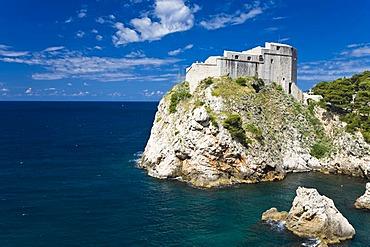 Fort Lovrijenac, Dubrovnik, Ragusa, Dubrovnik-Neretva, Dalmatia, Croatia, Europe