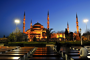 Sultan Ahmed Mosque aka Blue Mosque, Istanbul, Turkey