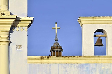 Cross and Bell, Franciscan Church, Granada, Nicaragua, Central America