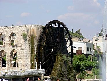Water wheels in hama