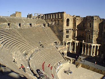 Roman theatre in Bosra