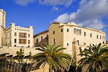 Episcopal Palace and Kathedral, Palma de Mallorca Spain, Balearic Islands, Europe