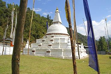 Chendebji-Chorten, Trongsa, Bhutan