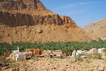 Mountain village near Qalhat, Oman