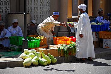 Vegetable market, Nizwa, Oman