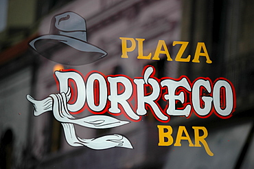 Bar Dorrego at Plaza Dorrego, San Telmo, Buenos Aires, Argentina