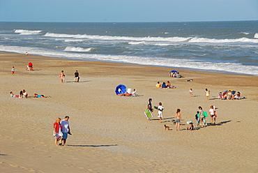 Beach of Mar de las Pampas, Buenos Aires province, Argentina