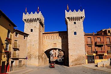 City wall, Daroca, Zaragoza Province, Aragon, Spain, Europe