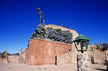 Monumento a los Heroes de la Independencia, memorial for heroes of the fight for independence from Spain, Humahuaca, Jujuy Province, Argentina
