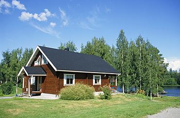 Holiday cottage in the Finnish Lake District near Kuipio, Finland, Scandinavia, Europe