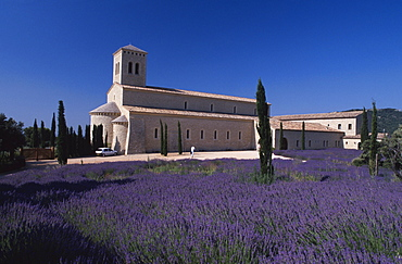 Monastery Sainte Madeleine, Le Barroux, Provence, France
