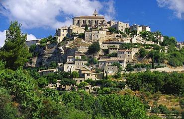 Skyline of Gordes, France, Provence
