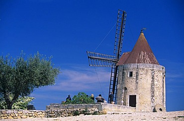 Moulin de Daudet in Fontvieille, France, Provence