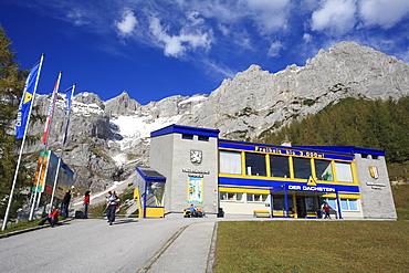 Cable car on Peak of Dachstein, Austria, Styria, Ramsau