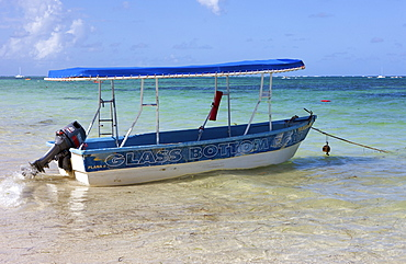 Tourist boat, Punta Cana, Dominican Republic, Caribbean