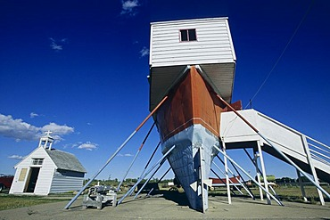 Museum near Moose Jaw, Saskatchewan, Canada