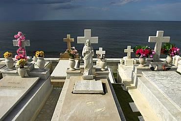 Cemetery at El Morro fortress, San Juan, Puerto Rico