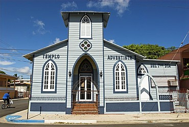 Kirche in Guanica, Puerto Rico