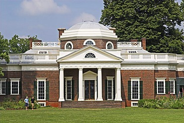 Monticello, Residence of President Thomas Jefferson, Charlotteville, Virginia, USA