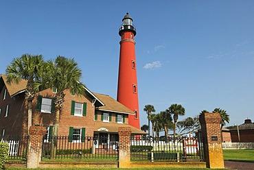 Lighthouse of Ponce de Leon Inlet, Daytona Beach, Florida, USA