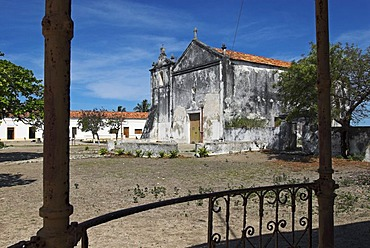 Church in the ghost town of Ibo Island, Quirimbas islands, Mozambique, Africa