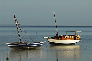Fishing boats at Ibo Island, Quirimbas islands, Mozambique, Africa