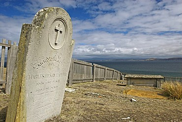 Historic cemetery, Maria Island National Park, Tasmania, Australia