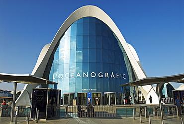 Oceanografic, City of Arts and Sciences, City of Valencia, Spain, Europe