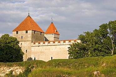 Bishop Castle in Kuressaare, Saaremaa Island, Estonia, Europe