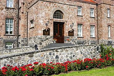 Entrance to Kalvi Manor, Estonia, Europe