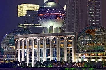 Asia, china, shanghai, pudong distric, international convention center.