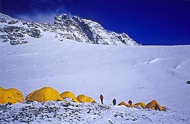 Camp IV, 4 (7950m), South Col, Mount Everest, Himalaya, Nepal
