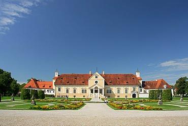 Old Schleissheim Palace, East Side, Oberschleissheim, Upper Bavaria, Bavaria, Germany