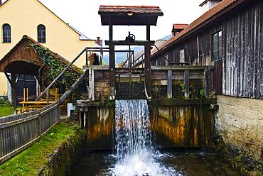Scythe workshop, Deutschfeistritz, Styria, Austria, Europe