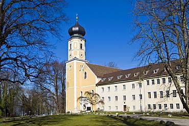 Bernried Monastery, Bernried, Bavaria, Germany, Europe