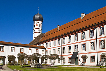 Beuerberg Monastery, Beuerberg, Bavaria, Germany, Europe