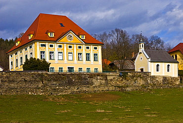 Tentschach Palace, Klagenfurt, Carinthia, Austria