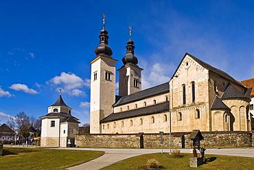 Gurk Cathedral, Gurk im Gurktal, Carinthia, Austria