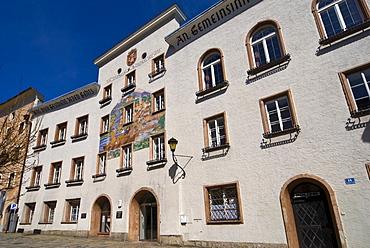 Town hall, Hallein, Salzburg region, Austria