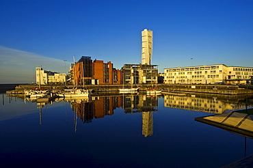 Turning Torso, landmark skyscraper, Malmo, Sweden, Scandinavia, Europe, PublicGround