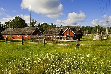 Fishing village, Masti, Vergi, Lahemaa National Park, Estonia, Baltic States, Northeastern Europe