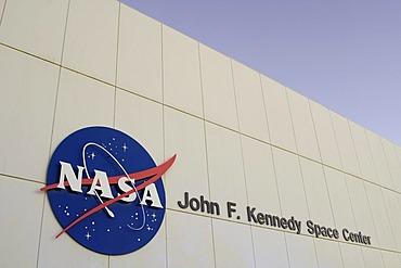 NASA building at the John F. Kennedy Space Center, Florida, USA