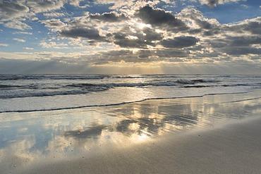 Sunrise on Cocoa Beach, Florida, United States