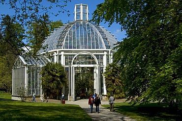 Greenhouse Botanical Garden Geneva Switzerland