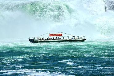 Boat trip to the Rhine Falls Neuhausen Switzerland