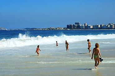 Copacana beach, Rio de Janeiro, Brazil